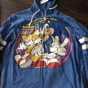 Sonic the Hedgehog Zip-Up Hoodie